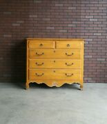Dresser Tall Chest Of Drawers Country French Five Drawer Chest By Ethan Allen
