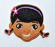 10x Lovely Doc Doctor Mcstuffins Iron On Patches Shirt Hat Jean Shoes ≈64.7 Cm