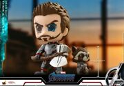 Hot Toys Thor And Rocket Team Suit Cosbaby S Bobble-head Collectible Cosb550
