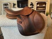 15.5andrdquo Cwd Se02 Calf French Close Contact Child/pony Jumping Saddle-2012 Model.