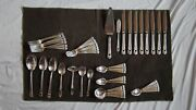 1847 Rogers Bros Vintage Eternally Yours Flatware Set And Box