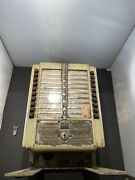 Seeburg Wall Box With Table Top Legs And Key