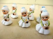 Antique Doll Frozen Charlotte Miniature All Bisque Dollhouse China Head Germaf2