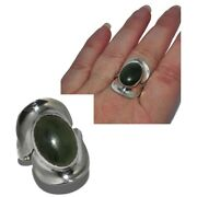 Taxco Mexico Silver Ring Solid 925 Agate Mousse Foam T 56 Jewel