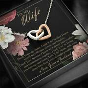 Husband To Wife Jewelry Necklace Romantic 30 Years 30th Wedding Anniversary Gift