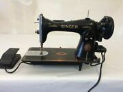 Singer Sewing Machine Jc774878 1948-54 With Foot Pedal J-
