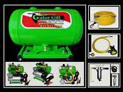 Gator Gill 12 Volt Diving Hookah Package 75and039 Elite Series Aluminum Tank Filtered