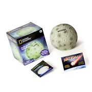 National Geographic Glowing Moon Money Bank For Kids - Large Coin Slot And Ea...