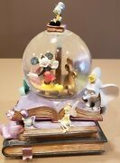 Mickey Mouse And Jimmy The Cricket Snow Globes
