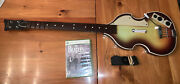 Rock Band Hofner Bass Wireless Controller Xbox 360 Beatles Guitar And Game Tested