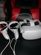 Oculus Quest 2 64gb Vr White Includes Controllers + Charging Cable