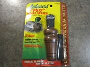 Vintage Lohman Neosho, Mo 1500 Pro Staff Series Duck Call Nos In Package W Lan