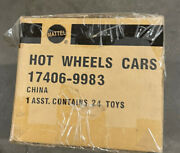 Sealed Factory Case Of 24 Mattel Hot Wheels Pro Racing Cars 17406-9983 Toys Rare