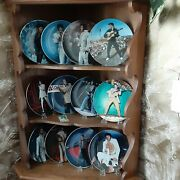 Elvis Presley Performance Collection 12 Plates