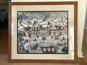 Large Linda Nelson Stocks Limited Edition Print Signed Numbered Framed 33x29
