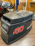 1990's Tohatsu 40 Hp 3 Cyl 2 Stroke Outboard Hood Top Cowl Cover Freshwater Mn