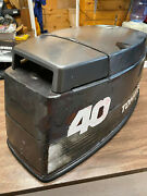 1995 Tohatsu 40 Hp 3 Cyl 2 Stroke Outboard Hood Top Cowl Cover Freshwater Mn