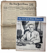 Wwii ''new York Times'' -- 19 August 1945