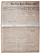 22 August 1945 Edition Of ''the New York Times''