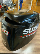 2015 Suzuki Df 40 Hp 4 Stroke Outboard Engine Top Cowl Cover Hood Freshwater Mn