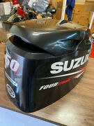 2010 Suzuki Df 50 Hp 4 Stroke Outboard Engine Top Cowl Cover Hood Freshwater Mn