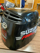 2010 Suzuki Df 90 Hp 4 Stroke Outboard Engine Top Cowl Cover Hood Freshwater Mn