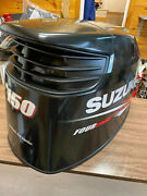 2014 Suzuki Df 150 Hp 4 Stroke Outboard Engine Top Cowl Cover Hood Freshwater Mn
