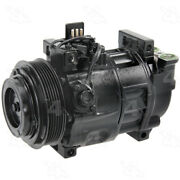 Remanufactured Compressor And Clutch Four Seasons 77339