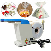 45w Automatic Twist Tie Machine Ribbon Metallic Wire Candy Gifts Tying Packing