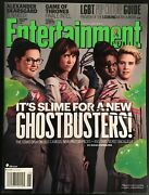 Ghostbusters Kate Mckinnon And Leslie Jones Autograph Signed Entertainment Weekly