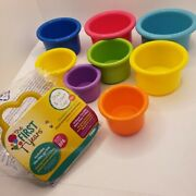 Open Box The First Years Stack Up Cup Toys