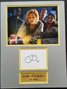 Jodie Whittaker Signed 16x12 Photo Display Dr Who Daleks Coa