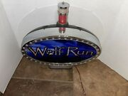 Wolf Run Slot Machine Light Topper Untested For Parts Or Repair