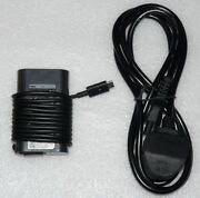 New Genuine Dell Latitude Xps 45w Usb-c Adapter Charger Hdcy5 La45nm150 Y91pf
