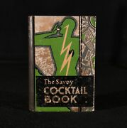 1930 The Savoy Cocktail Book First Edition Harry Craddock First Edition