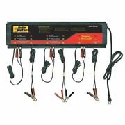 Auto Meter Agm Optimized Smart Battery Charger 6 Channel, 120v 5am - Buspro-660