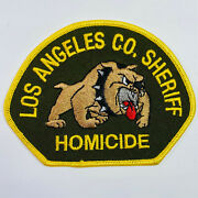 Los Angeles County Sheriff Homicide California Ca Patch B1