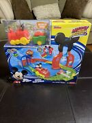 Disney Mickey Mouse Clubhouse Roadster Racers Mouska Train Express Playset New