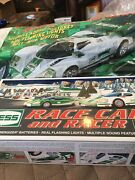 2009 Hess Toy Truck Race Car And Racer, Mint In Box With Bag