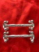 Antique Silver Cutlery Rests By Richard Martin And Ebenezer Hall 1899