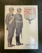 German Book Ww2 Uniforms And Insignia Of The Luftwaffe Vol I 1933-1940 Mint