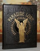 Miltonand039s Paradise Lost/gustave Dore/holy War Full Leather Fine Binding Folio 13