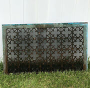 Barn Find Solid Brass Antique Radiator Grille 1920s 40lbs