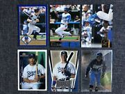 Carlos Beltran 6 Card Rookie Lot. Assorted Early Years And Rookie Cards. Kc Royals