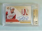 2015-16 Dylan Larkin Sp Authentic Future Watch Limited Rookie Auto /100 Bgs 9.5