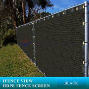Ifenceview 9and039x1and039-9and039x100and039 Black Uv Fence Privacy Screen Canopy Awning Pergola Top