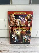 The Complete Adventures Of Flash Gordon Collectible Video-book Dvd 4-discs