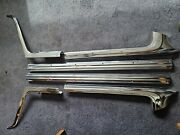 1968-1969 Ford Ranchero Bed Trim- 6 Pieces Set With No Dents