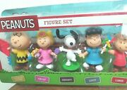 Peanuts Just Play Figure Set The Gangand039s All Here 5 Pack New
