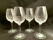 Waterford Crystal Presage White Wine Glasses Set Of 4 Mint New In Box
